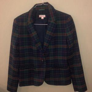 Merida plaid blazer. Size 12